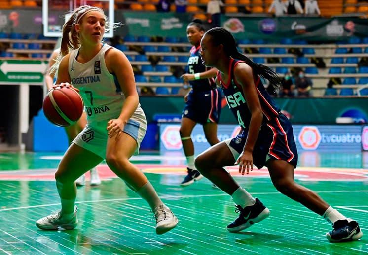 Definidos los cuartos de final en el FIBA Américas U16