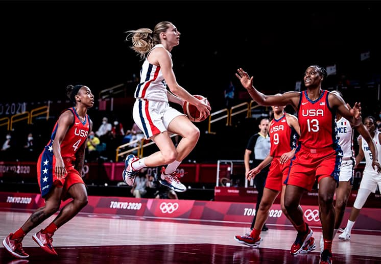 Estados Unidos, España y China llegan invictas a los cuartos de final en el basquetbol femenil de Tokyo 2020