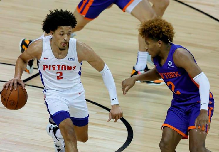 Cade Cunningham comienza a lucir con los Pistons en la Summer League