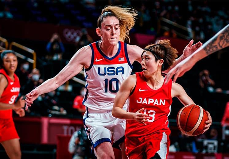 Breanna Stewart y Rui Machida encabezan al Equipo Ideal Femenil de Tokyo 2020 DEST