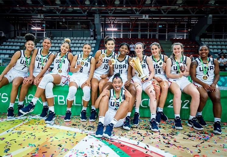 Estados Unidos se lleva el título en el Mundial Femenil FIBA U19