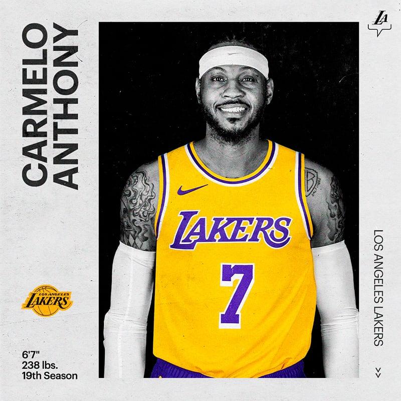 Carmelo Anthony cuenta por qué le dijo sí a los Lakers y LeBron 1
