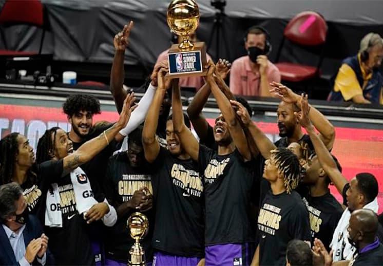 Los Sacramento Kings campeones de la NBA Summer League
