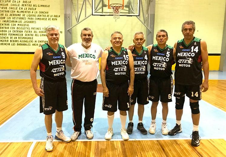 Los planes para el Maxibasquet en México DEST