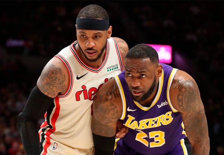 Carmelo Anthony cuenta por qué le dijo sí a los Lakers y LeBron DEST