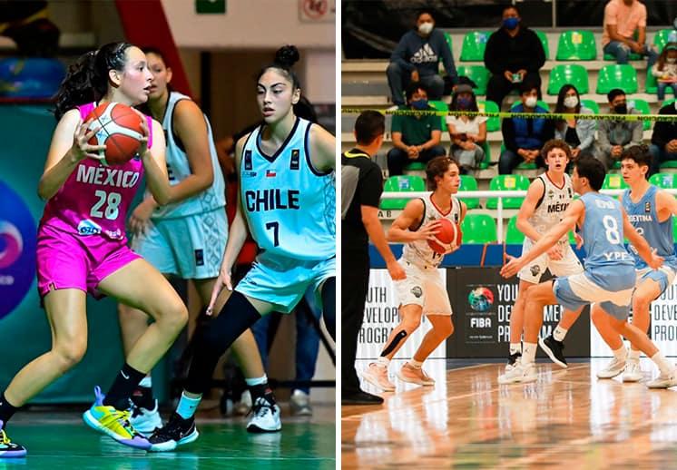 Los mexicanos cierran la fase de grupos con derrota en el FIBA Américas U16