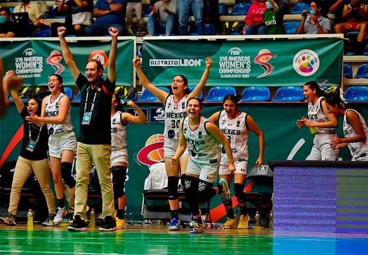 Las mexicanas comenzaron con victoria ante Argentina en el FIBA Américas U16 DEST