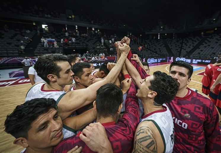 México ya conoce a sus primeros rivales rumbo a la Copa del Mundo FIBA 2023 DEST
