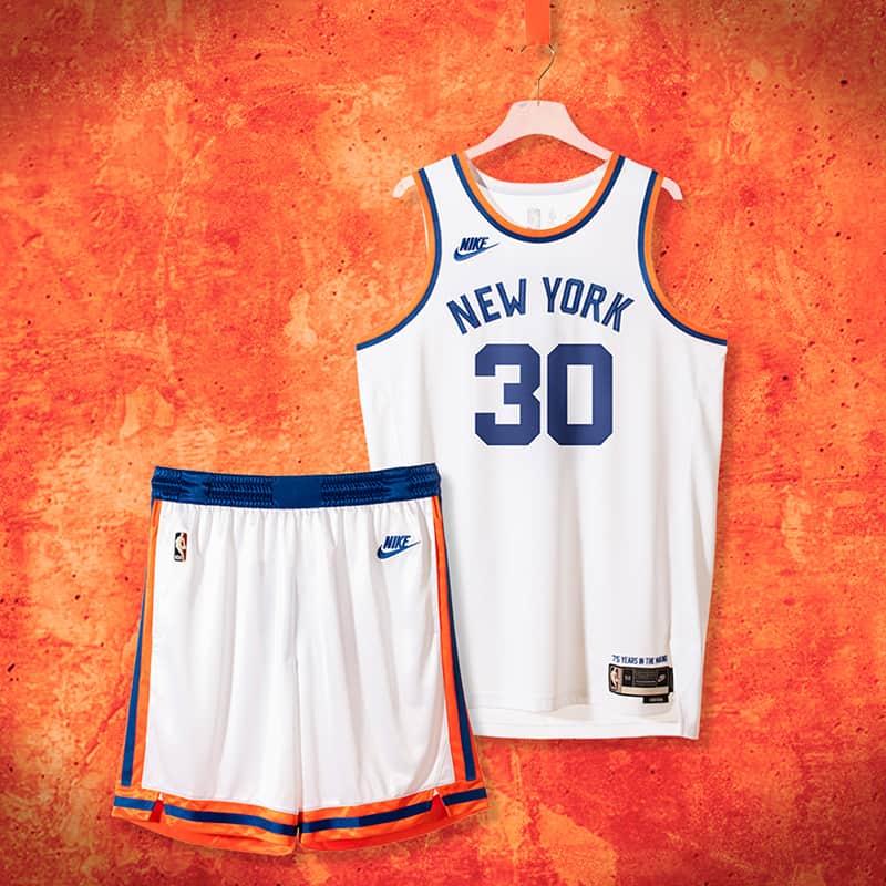 Knicks, Warriors y Celtics celebran los 75 años de la NBA con jerseys edición especial 1