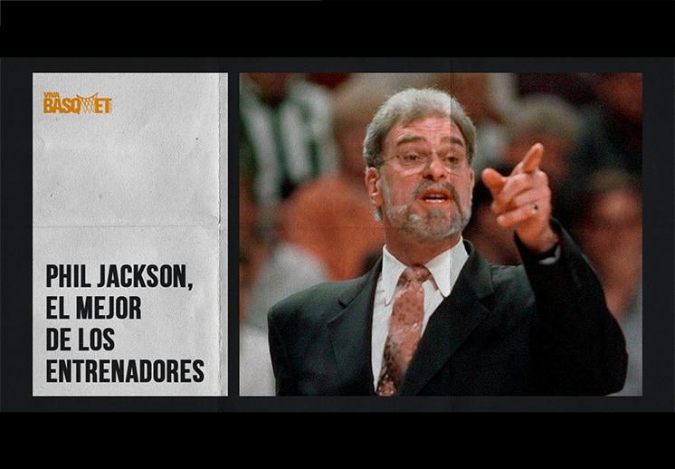 Phil Jackson, el mejor de los entrenadores