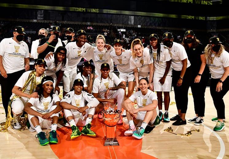 Seattle Storm las campeones de la primera Commissioner's Cup de la WNBA
