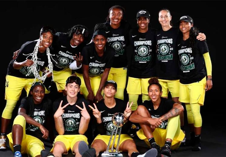 Las campeonas de la WNBA volverán a visitar la Casa Blanca
