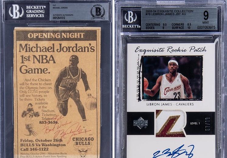 Subastas millonarias para obtener objetos de Michael Jordan y LeBron James DEST