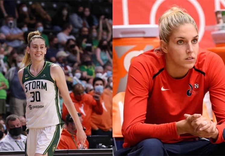 Breanna Stewart y Elena Delle Donne lesionadas en el cierre de temporada de la WNBA