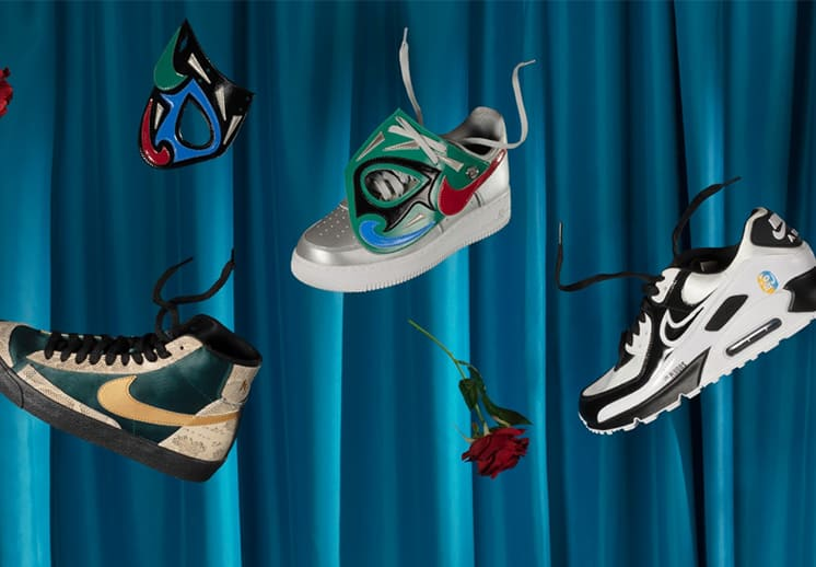Nike y su colección de sneakers en homenaje a la Lucha Libre DEST