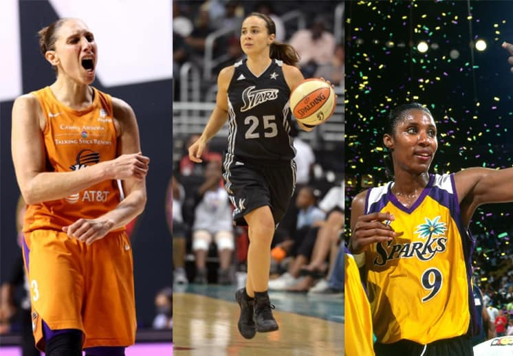 Las 25 mejores jugadoras en la historia de la WNBA