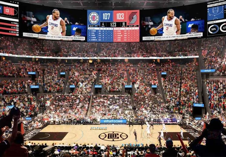 La impresionante arena que preparan los Clippers DEST
