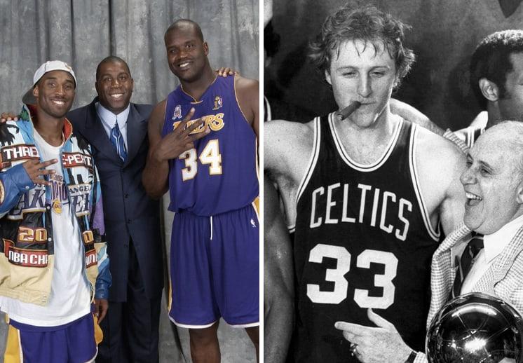 Los máximos ganadores en la historia de la NBA DEST