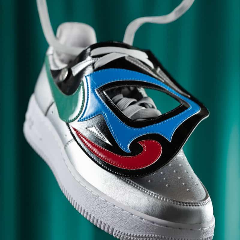 Nike y su colección de sneakers en homenaje a la Lucha Libre 1