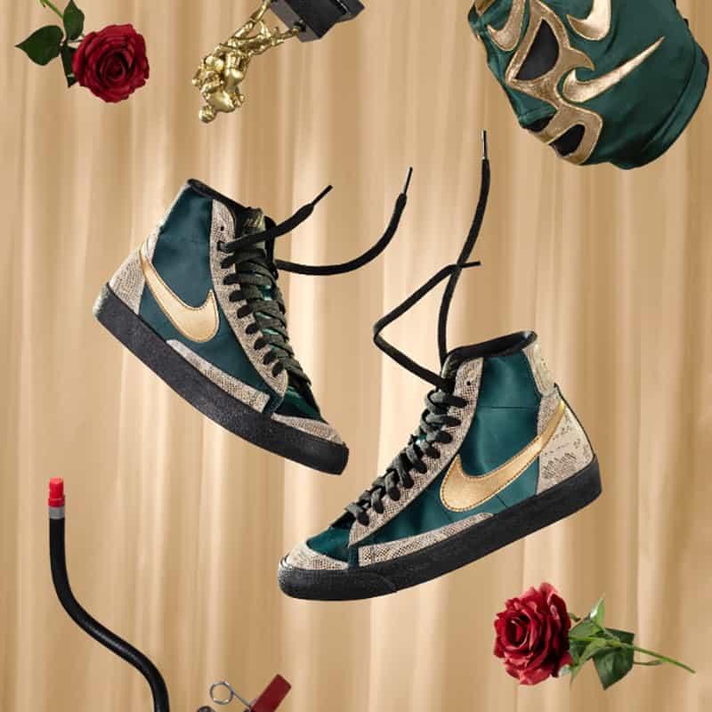 Nike y su colección de sneakers en homenaje a la Lucha Libre 3