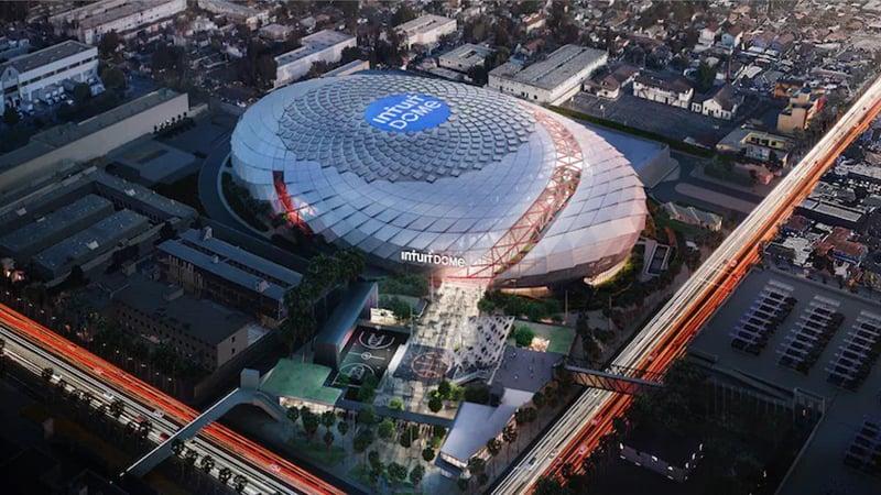 La impresionante arena que preparan los Clippers 1
