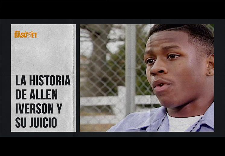 La historia de Allen Iverson y su juicio