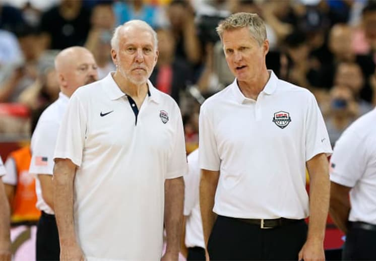 Steve Kerr el candidato para suplir a Gregg Popovich en el Team USA