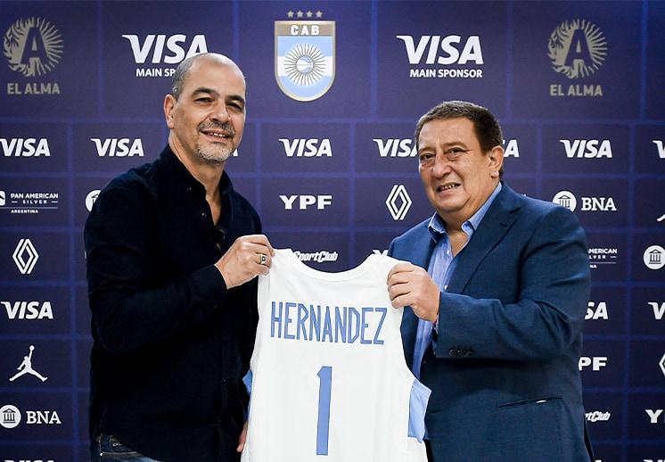 """Termina una era en el basquetbol argentino, se va el coach Sergio """"Oveja"""" Hernández"""