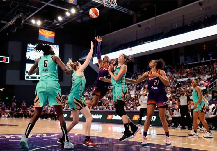 En dramático partido, Phoenix Mercury avanza en los playoffs de la WNBA