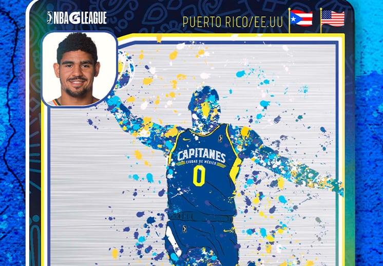Capitanes de la CDMX comienza a develar su roster para el debut en la NBA G League