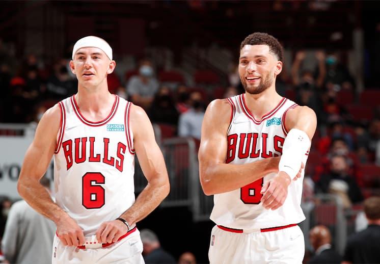Prometedor debut de los renovados Bulls