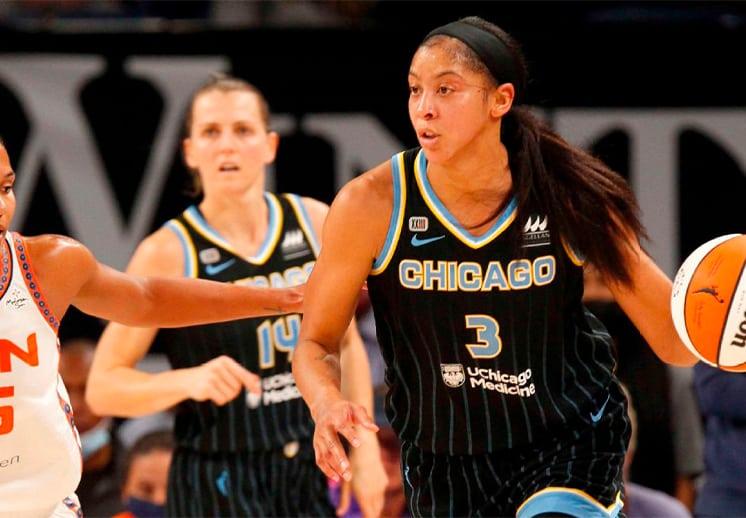 Chicago Sky primeras invitadas a las Finales de la WNBA