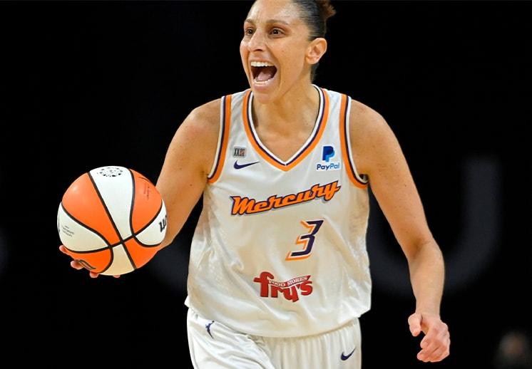 Diana Taurasi y su noche de récord en la WNBA