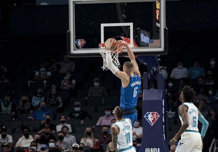 Los Mavericks humillaron a los Hornets