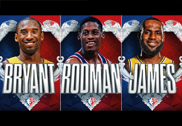 Completo el equipo del 75 aniversario de la NBA DEST