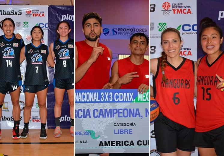 Listos los equipos mexicanos calificados a eventos internacionales 3X3 DEST