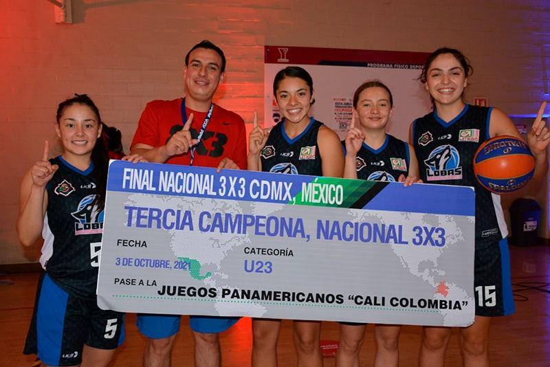Listos los equipos mexicanos calificados a eventos internacionales 3X3 2