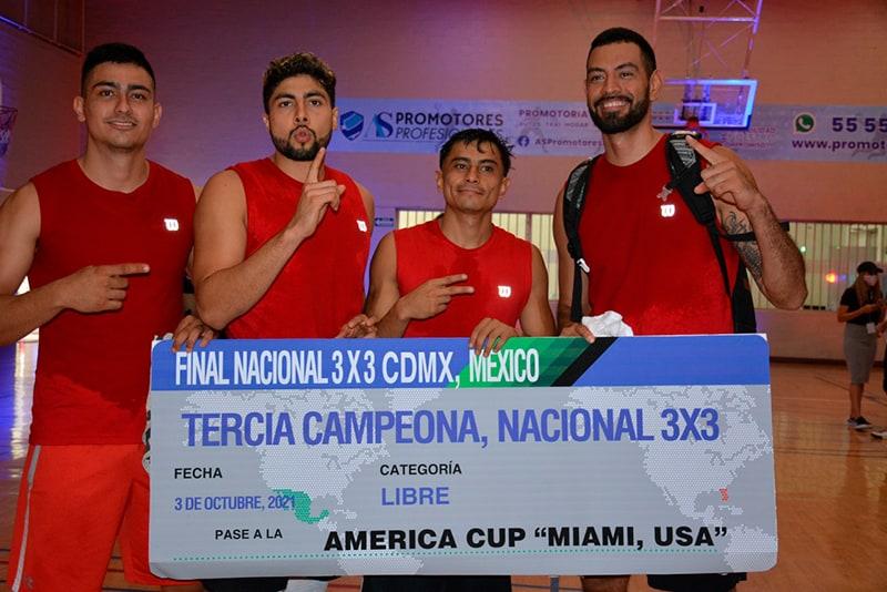 Listos los equipos mexicanos calificados a eventos internacionales 3X3 3