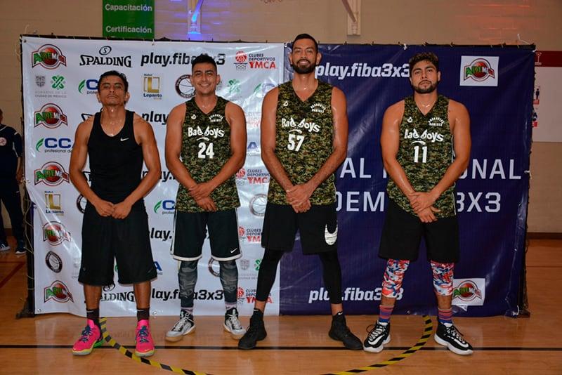 Listos los equipos mexicanos calificados a eventos internacionales 3X3 4