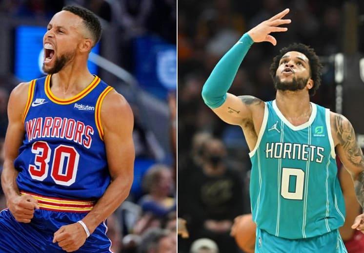Stephen Curry y Miles Bridges los mejores de la semana en la NBA