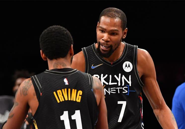 Kevin Durant se olvida de Kyrie por ahora y se concentra en los Nets