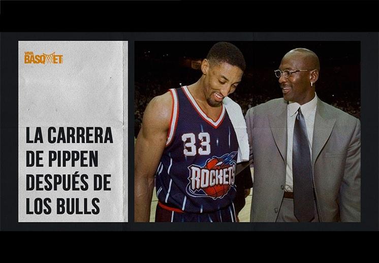 La carrera de Pippen después de los Bulls