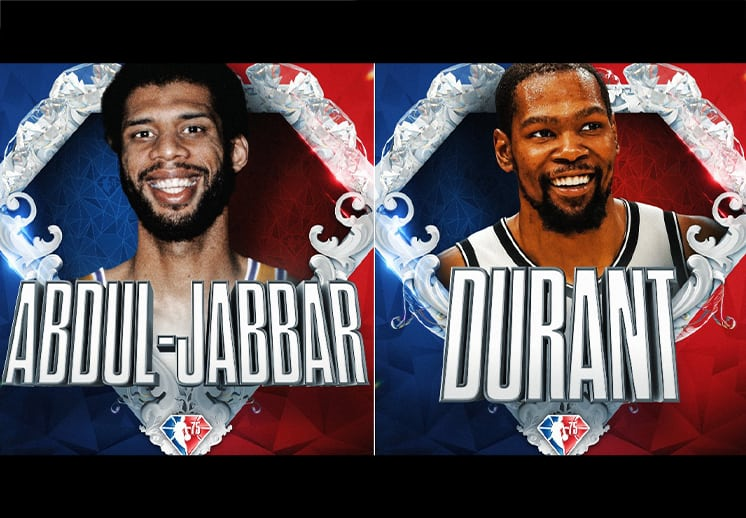 Develan a los primeros elegidos de los 75 mejores de la NBA DEST