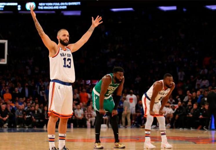 Lo más destacado en el debut de la NBA