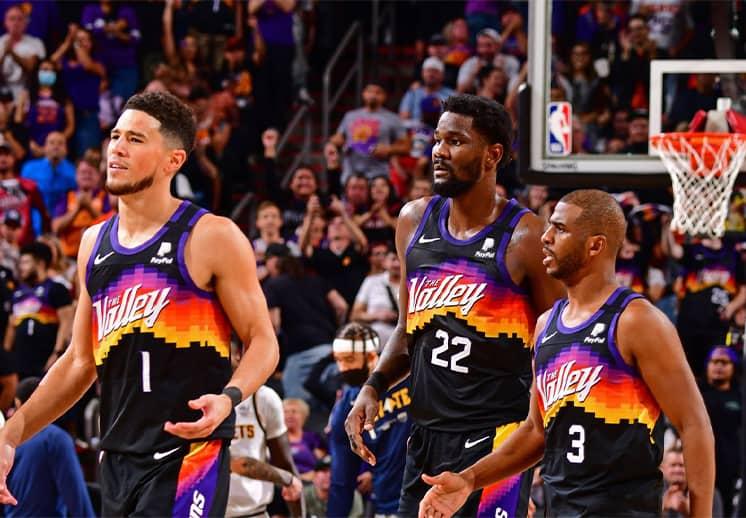 Los Phoenix Suns lanzan su lema de batalla para la temporada 75 de la NBA