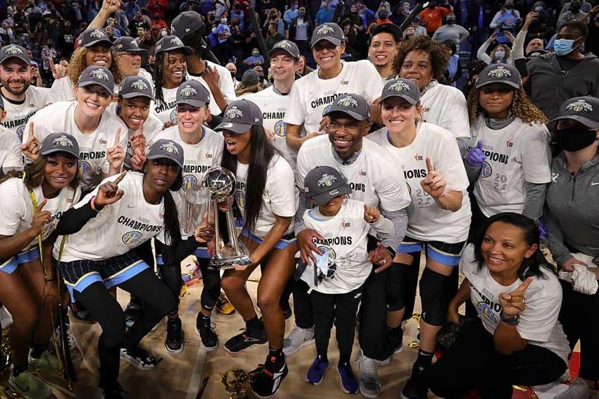 Las Chicago Sky campeonas de la WNBA