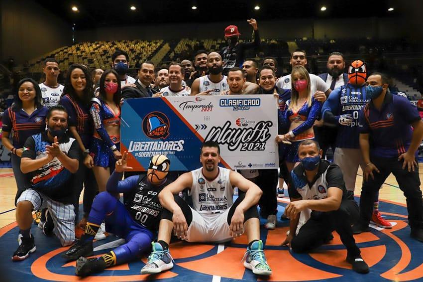 Libertadores y Astros amararon pase a playoffs en la LNBP